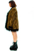 Ivy Reversible Faux Fur Jacket