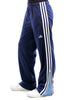 Vintage 90's Adidas Blue on Blue Joggers - One Size Fits Many