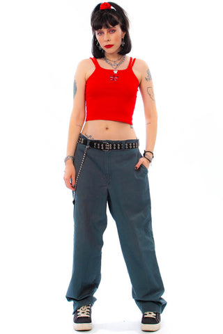 Vintage 90's Red Kap Charcoal Twill Pants - M/L/XL