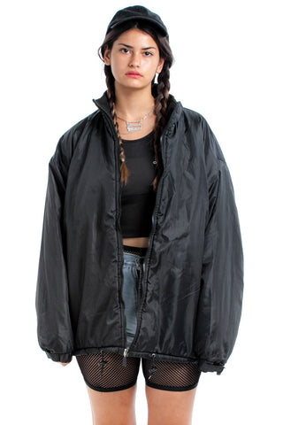 Vintage 90's Black as Night Puffy Jacket - One Size Fits Many