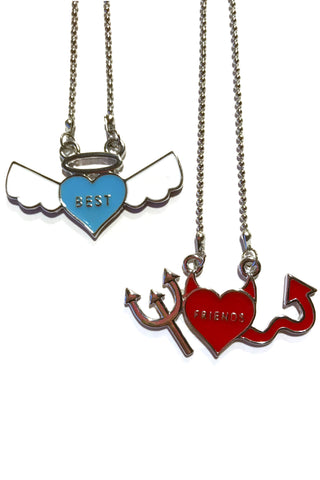 BFF Best Friend Necklaces - Set of 2!