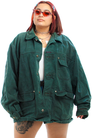 Vintage 90's Grass is Always Greener Jacket - XL/2X/3X
