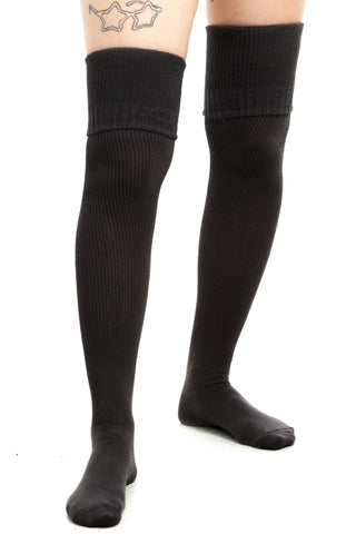 Vintage Deadstock American Apparel Black Thigh Highs
