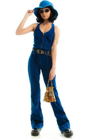 Vintage Y2K Bex Stretch Denim Jumpsuit - S