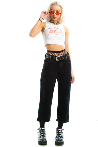 Vintage 90's Relax Mama High-Waisted Jeans - XS