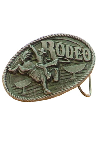 Vintage 1992 Yee-Haw Rodeo Belt Buckle