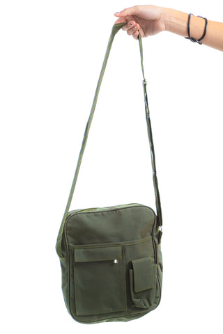 Vintage 90's Deadstock Army Cross-Body Bag