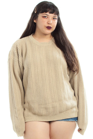 Vintage 90's Crop Circle Pullover - XL/2X/3X