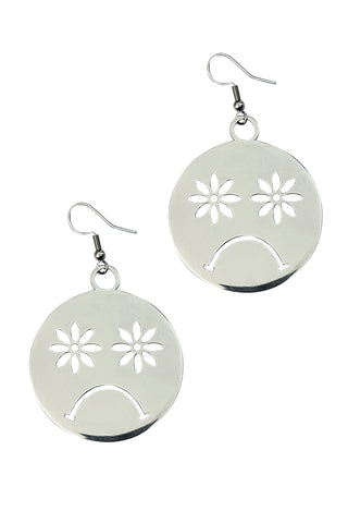 Hug a Tree Stainless Steel Earrings