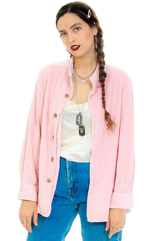 Vintage 90's Cotton Candy Corduroy Jacket - One Size Fits Many