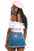 Vintage Y2K Three Way Mini Skirt - M/L