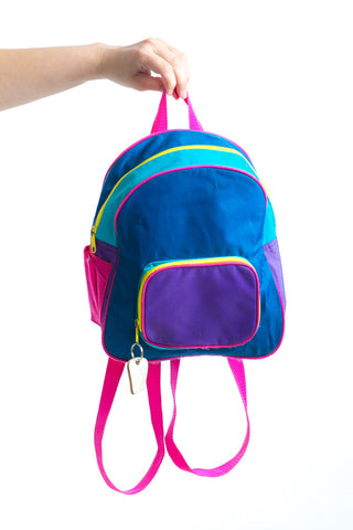 Vintage 90's McKids Colorblock Mini Backpack