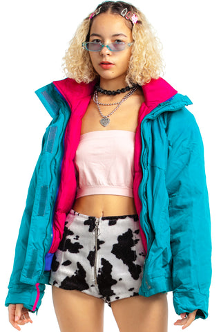 Vintage 90's Retro All-Weather Candy Coat - XS/S