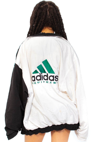 Vintage 90's Adidas Windbreaker - One Size Fits Many