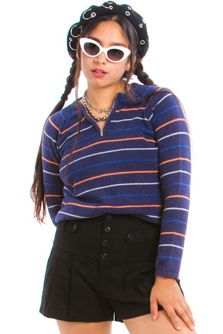 Vintage 90's Tommy Hilfiger Striped Sweater - XS/S/M