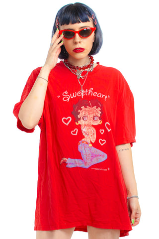 Vintage 2003 Sweetheart Betty Boop Tee - One Size Fits Many