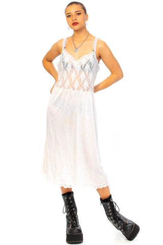 Vintage 80's Earth Angel Slip Dress - One Size Fits Many