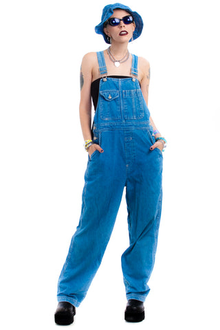Vintage 90's You Know Her Overalls - XS/S/M