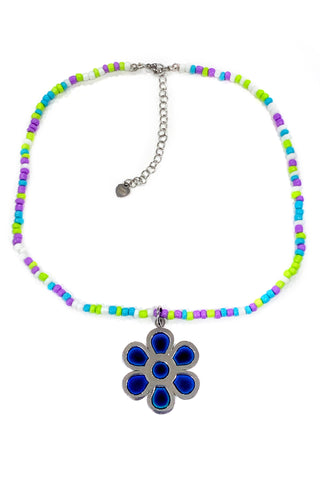Flower Power is the Mood! Mood-Changing Necklace