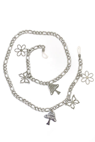 Stainless Steel Charm Eyeglass Chain