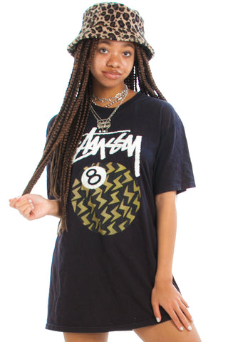 Vintage Y2K Stussy 8-Ball Tee - One Size Fits Many