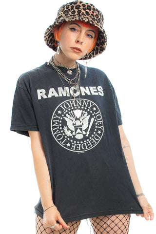Vintage 2004 Ramones Tee - One Size Fits Many