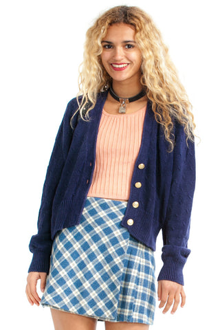 Vintage 90's See Me After Class Cardi - XS/S