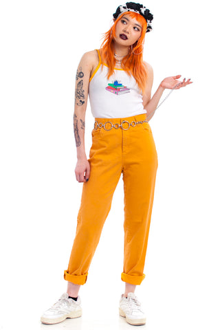 Vintage 90's Forenza Tangerine Mom Jeans - S/M