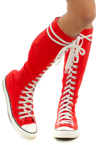 Vintage Y2K Converse Knee-Highs - US 7