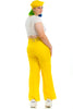 Vintage 70's Lemon Wide-Legged Trousers - L