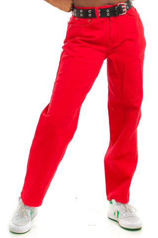 Vintage 90's Red Hot Mom Jeans - M/L