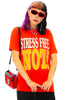 Vintage 90's Stress-full Tee - One Size Fits Many