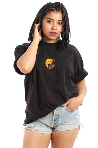 Vintage 90's Yin Yang In the Wave Tee - One Size Fits Many