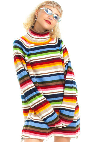 Vintage 90's Rainbow Dream Sweater - One Size Fits Many