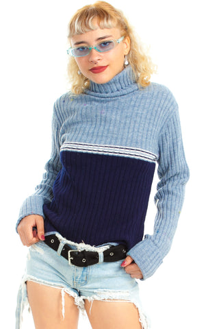 Vintage 90's Gas Me Up Turtleneck - XS/S/M