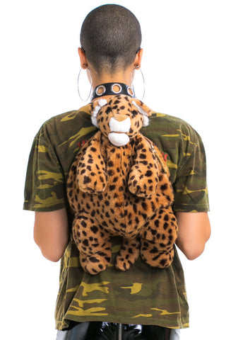 Vintage 90's Li'l Leopard Backpack
