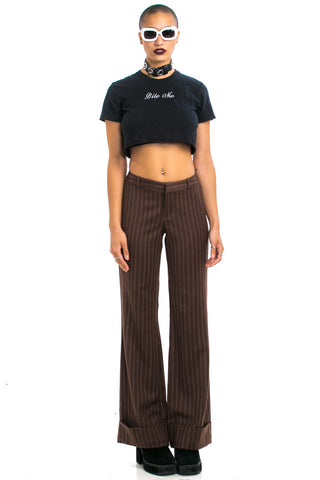 Vintage Y2K Penguin Wool Trousers - S