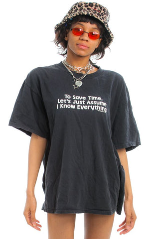 Vintage 90's I'm Right Tee - One Size Fits Many