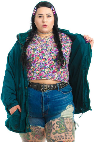 Vintage 90's Peacock Windbreaker - One Size Fits Many