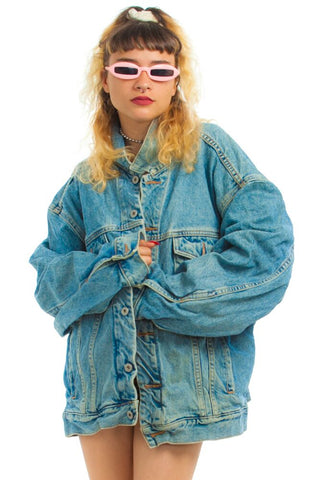 Vintage 90's Classic Gap Jean Jacket - One Size Fits Many