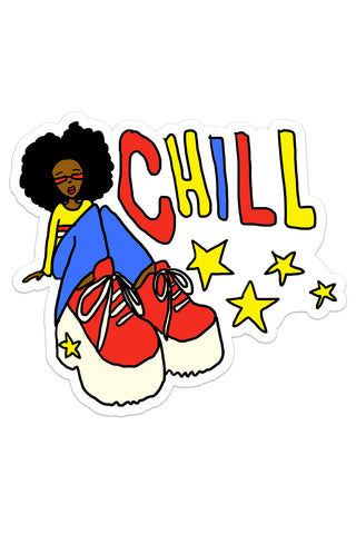 Chill Vibes Sticker