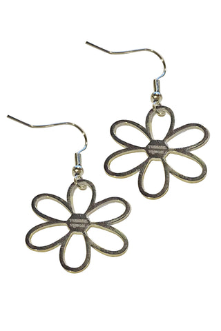 Daisy Baby Stainless Steel Earrings