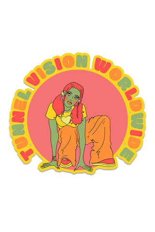 Tunnel Vision Worldwide Sticker