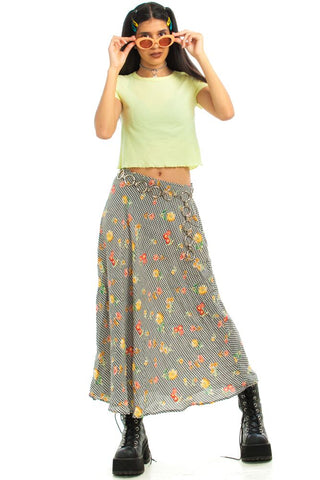 Vintage 90's Summer in the Country Skirt - S/M