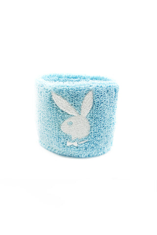 Deadstock Blue Playboy Bunny Wristband