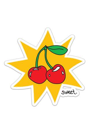Sweet! Cherry Sticker