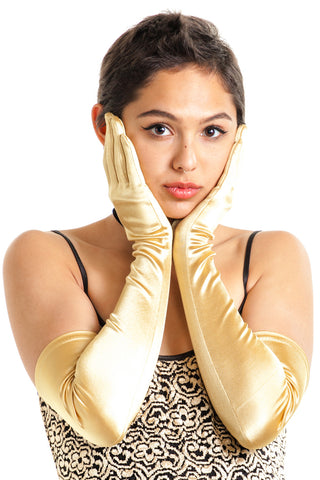 Not Quite Vintage I Am A Golden God Gloves