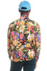 Vintage 90's Flower Print Button-up - S/M