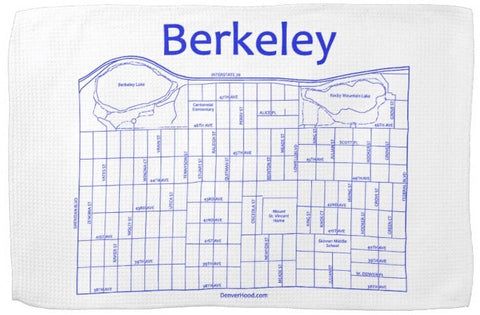 Berkeley Tea Towel
