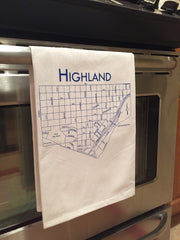 Highland Tea Towel